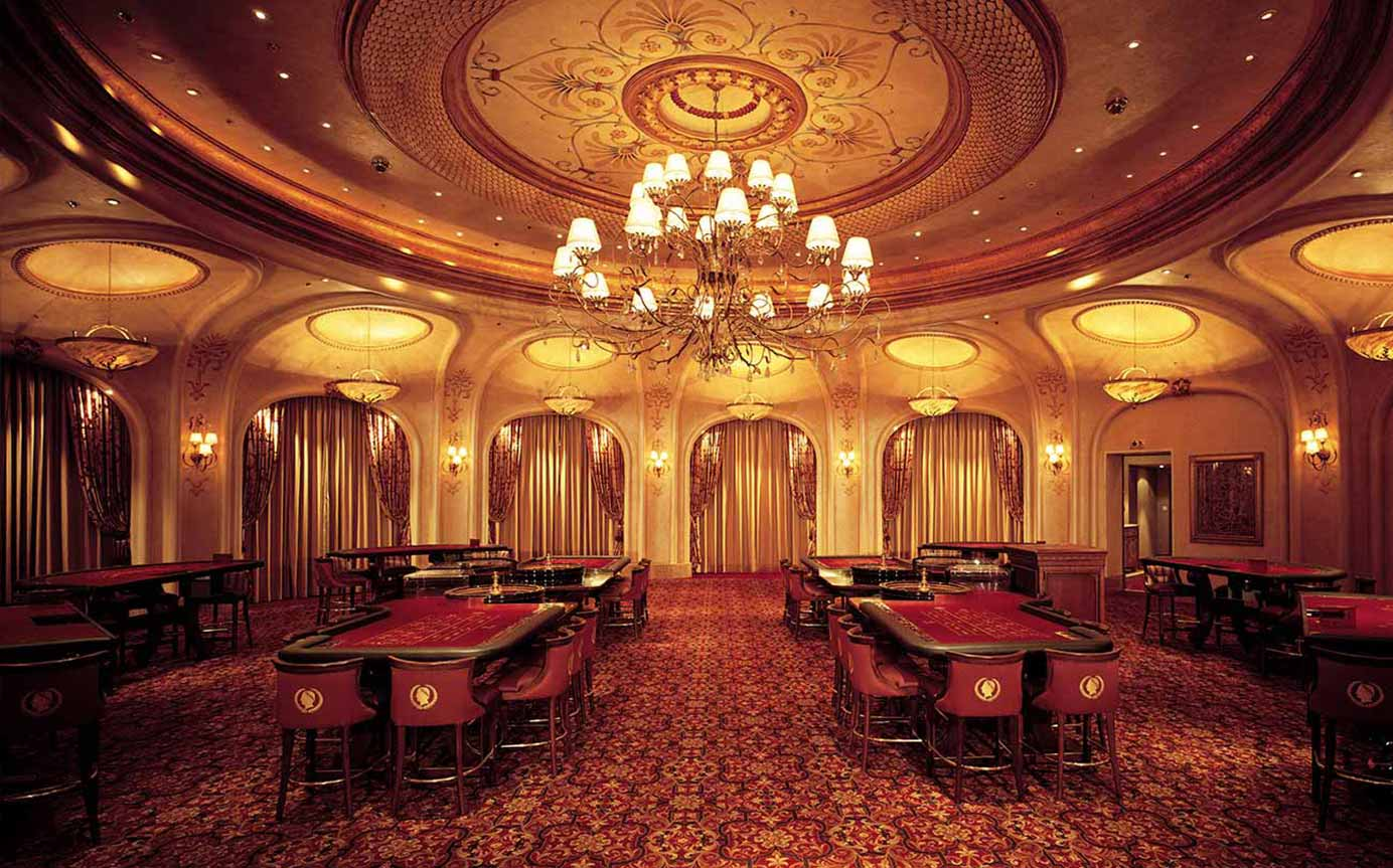 Emperors Palace South Africa - Main Tables - Interior Lighting