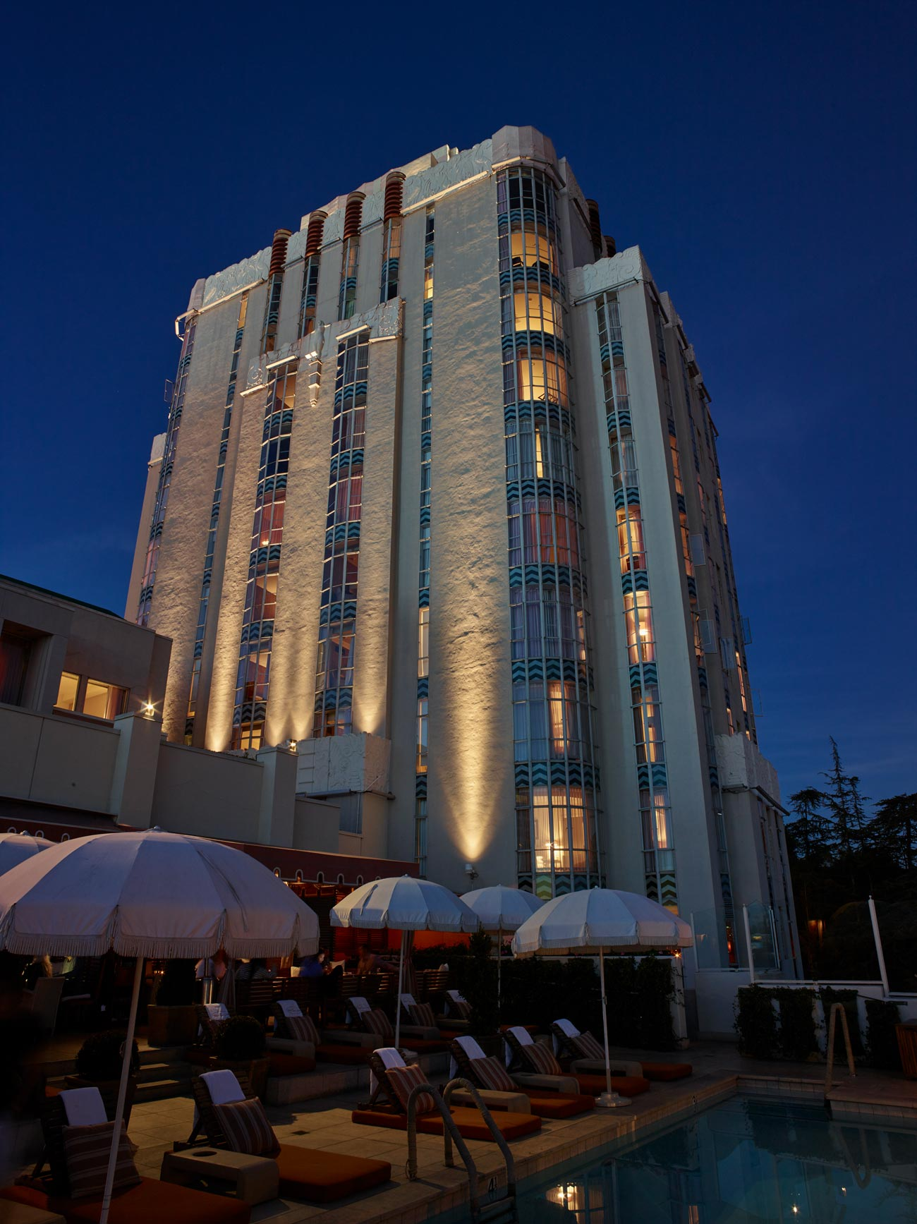 Sunset Tower Hotel - West Hollywood
