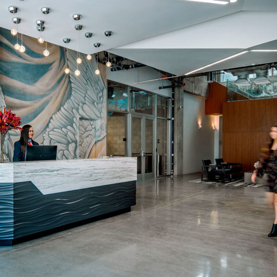 G12 & OLiVE Apartments Reception