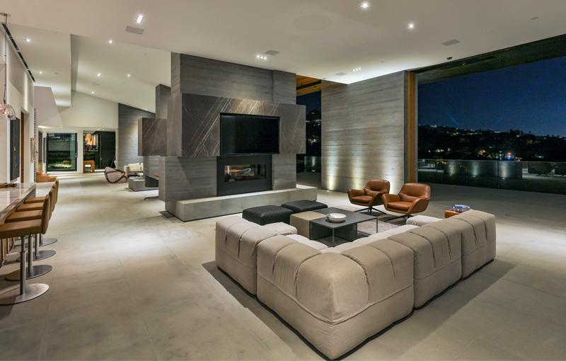 Gilcrest Residence - Family Room